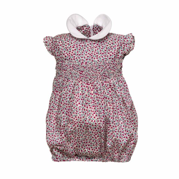 Paio Crippa - COTTON ROMPERS FOR BABY GIRLS