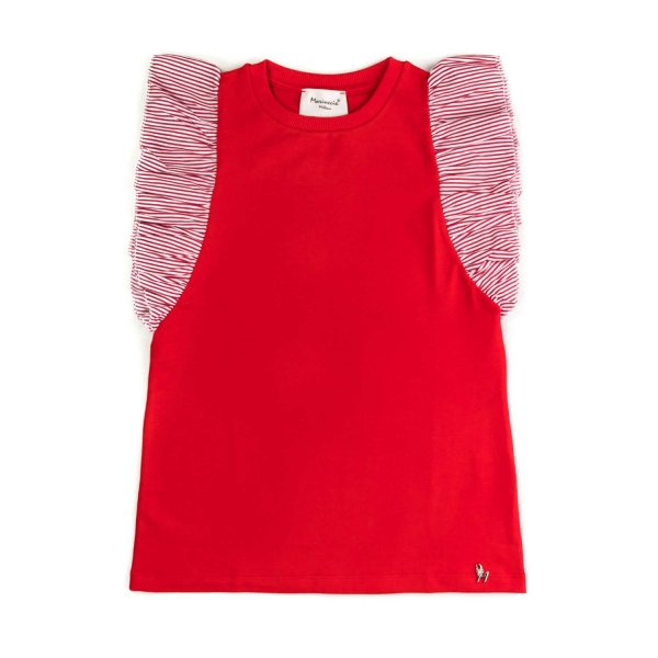Mariuccia Milano - RED TOP FOR LITTLE GIRL