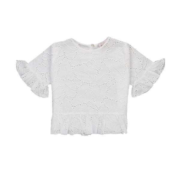 Mariuccia Milano - LACE BLOUSE FOR GIRLS