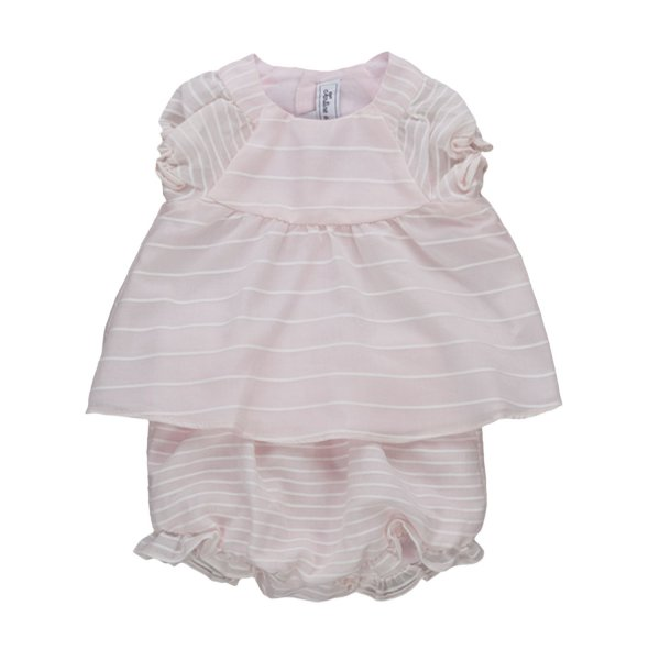 Tartine Et Chocolat - PINK OUTFIT FOR BABY GIRLS