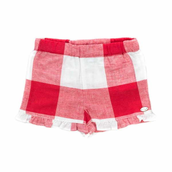 Tartine Et Chocolat - BABY GIRL CHECK SHORTS