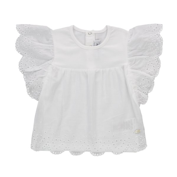 Tartine Et Chocolat - BABY GIRLS EMBROIDERY TOP