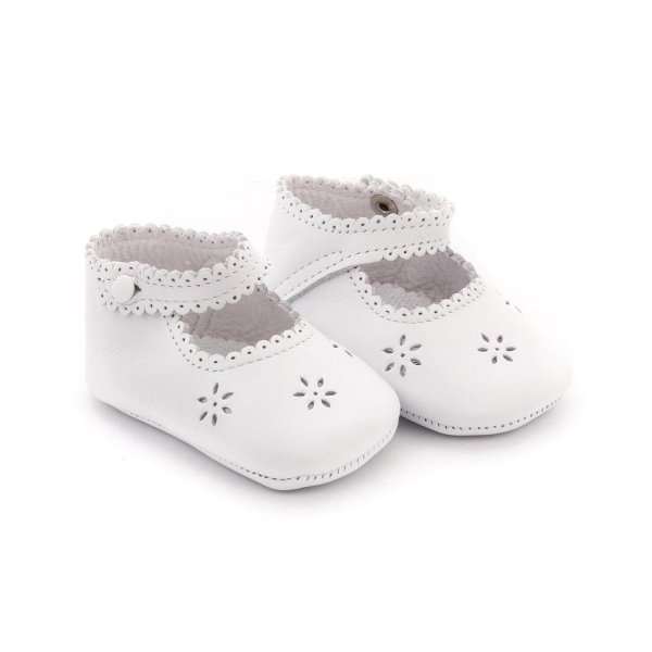 Tartine Et Chocolat - BABY GIRL WHITE SHOES