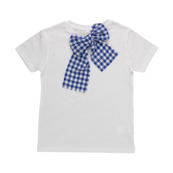 La Bottega Di Giorgia - GIRL T-SHIRT WITH BOW