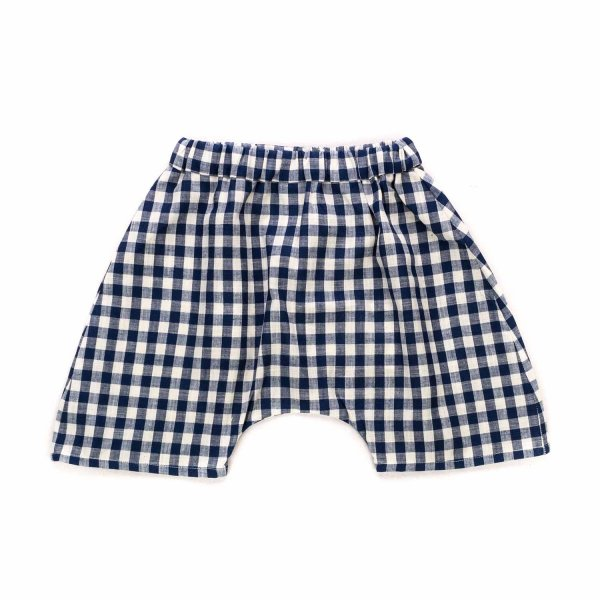 La Bottega Di Giorgia - CHECK SHORTS FOR BABY GIRLS