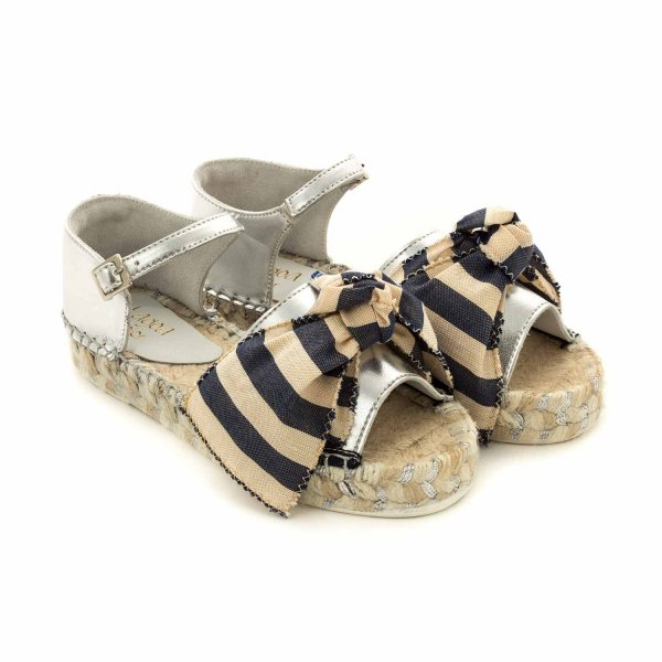 Lagoa - SILVER SANDALS FOR GIRLS