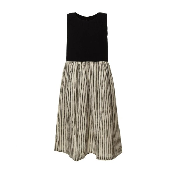 Little Creative Factory - GIRL STRIPED COTTON DRESS