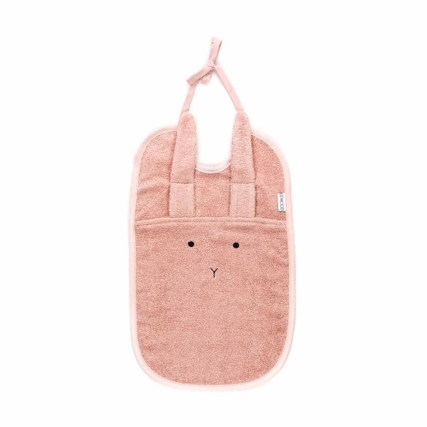 Liewood - BABY GIRL PINK RABBIT BIB