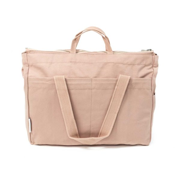 Liewood - PINK COTTON MOMMY BAG