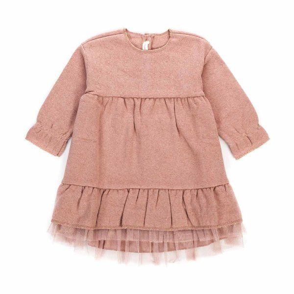 Zhoe & Tobiah - BABY GIRL PINK TULLE DRESS