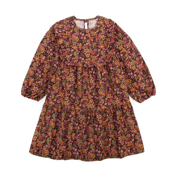 Zhoe & Tobiah - FLORAL DRESS FOR LITTLE GIRLS