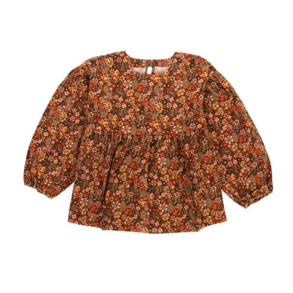 Zhoe & Tobiah - FLORAL BLOUSE FOR GIRL