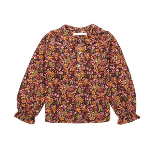 Zhoe & Tobiah - FLORAL SHIRT FOR GIRLS