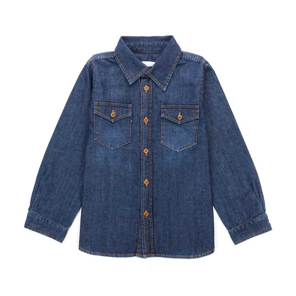 Zhoe & Tobiah - UNISEX DENIM COTTON SHIRT