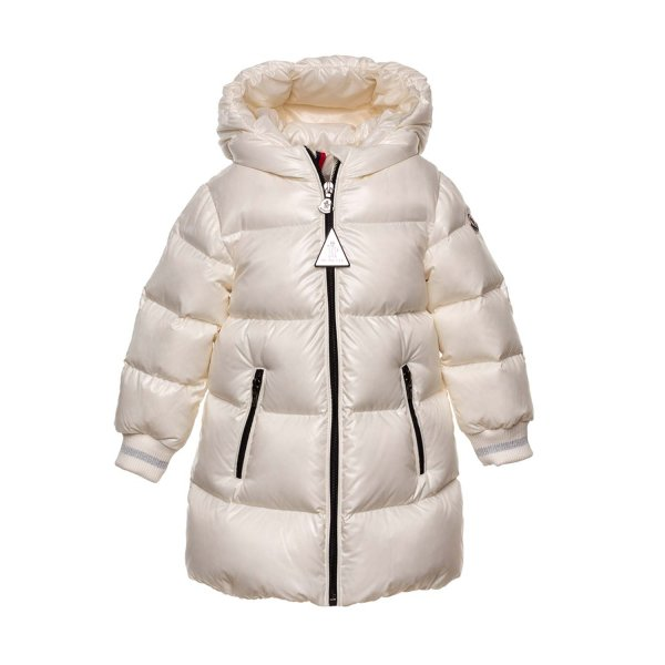 Moncler - LONG DOWN JACKET FOR BABY GIRL