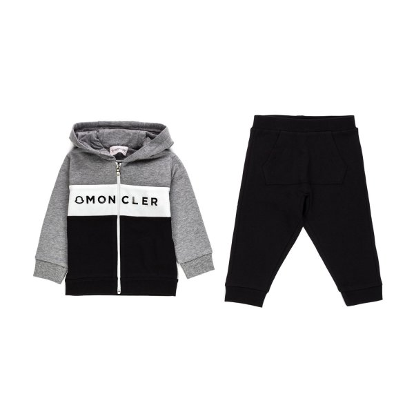 Moncler - BABY BOY COTTON TRACKSUIT