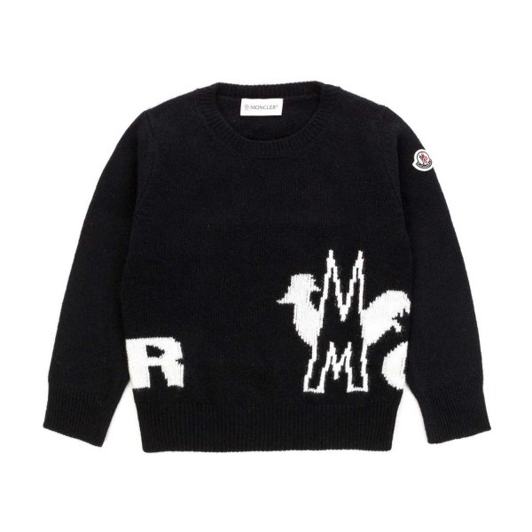 Moncler - WOOL SWEATER FOR BOY