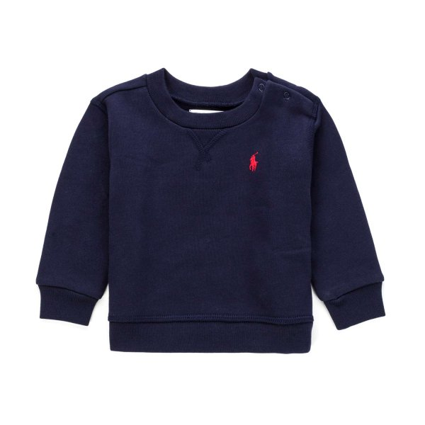 Ralph Lauren - COTTON SWEATSHIRT FOR LITTLE BOY