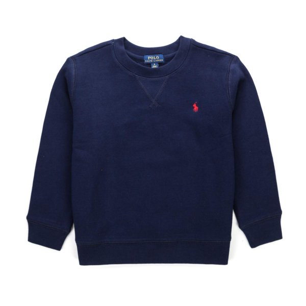 Ralph Lauren - BLUE LOGO SWEATSHIRT FOR BOYS