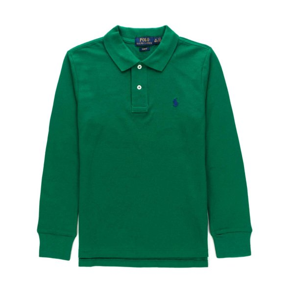 Ralph Lauren - GREE POLO SHIRT FOR BOYS