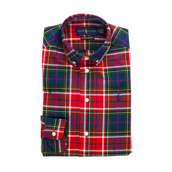 Ralph Lauren - TARTAN SHIRT FOR BOY