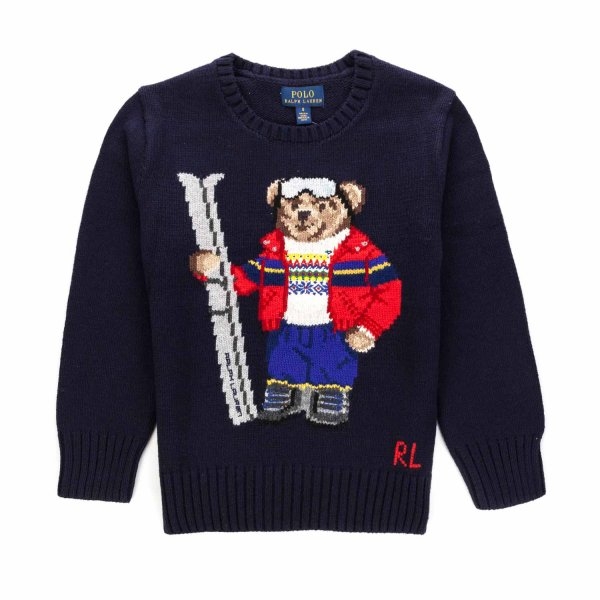 Ralph Lauren - MAGLIONCINO POLO BEAR BOY