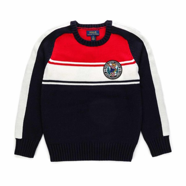 Ralph Lauren - POLO BEAR PULLOVER FOR BOYS