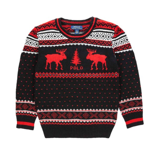 Ralph Lauren - REINDEER PULLOVER FOR BOYS