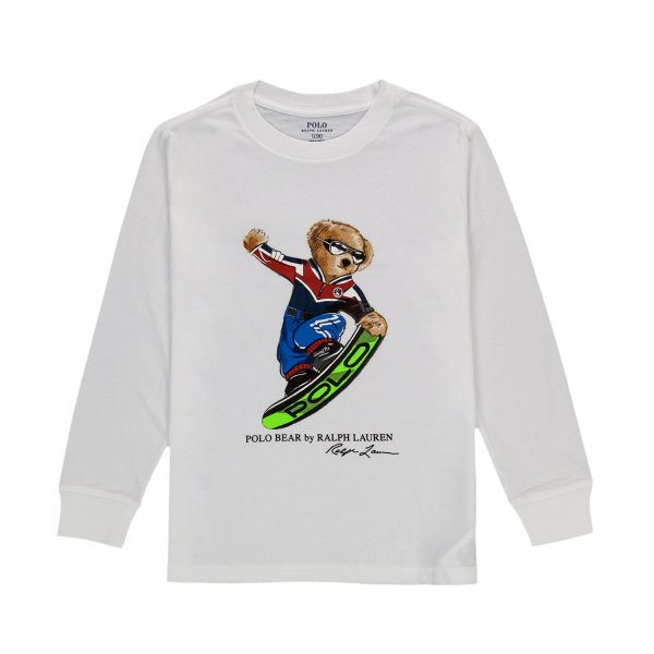 Ralph Lauren - LITTLE BOY POLO BEAR T-SHIRT