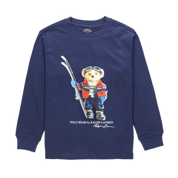 Ralph Lauren - T-SHIRT POLO BEAR BAMBINO TEEN