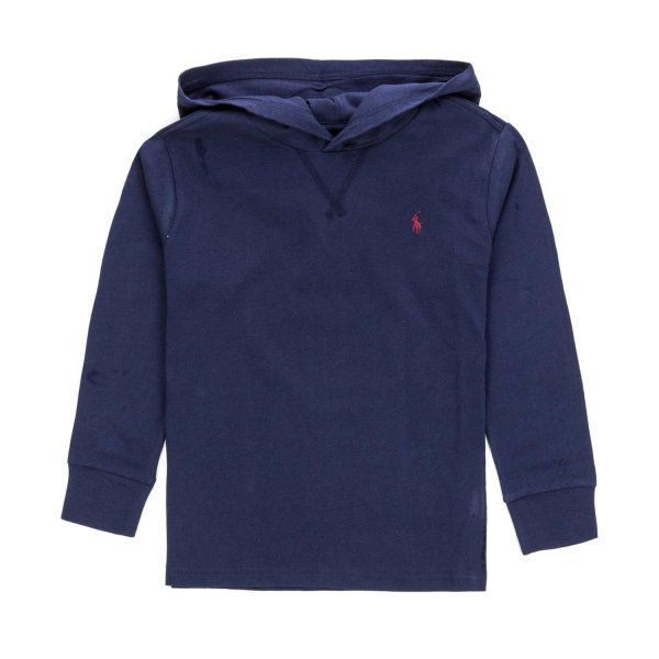 Ralph Lauren - HOODED T-SHIRT FOR BOYS