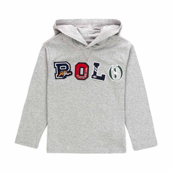 Ralph Lauren - HOODED T-SHIRT FOR BOY