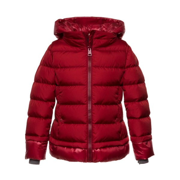 Herno - RED DOWN JACKET FOR GIRLS