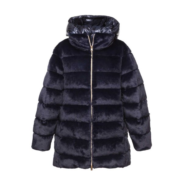Herno - GIRL AND TEEN BLUE DOWN JACKET