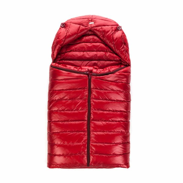 Herno - UNISEX RED PADDED BABY NEST