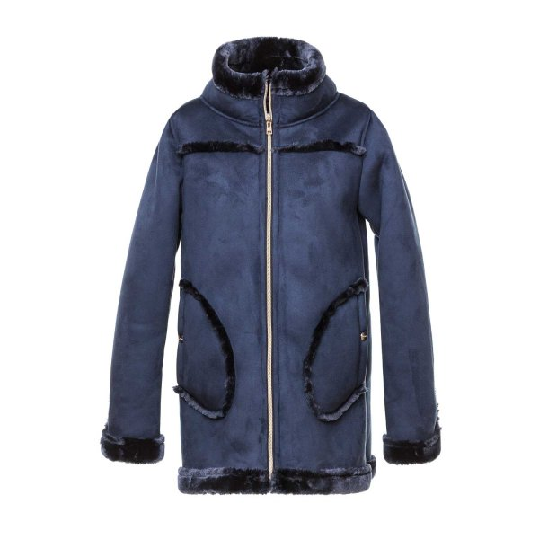 Herno - BLUE COAT FOR GIRL AND TEEN