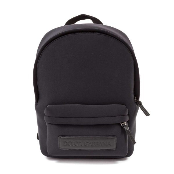 Dolce & Gabbana - UNISEX BLACK BACKPACK