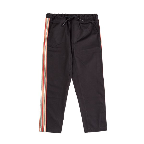 Burberry - UNISEX BLACK TROUSERS