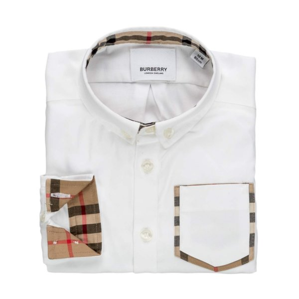 Burberry - OXFORD SHIRT FOR BABY BOYS