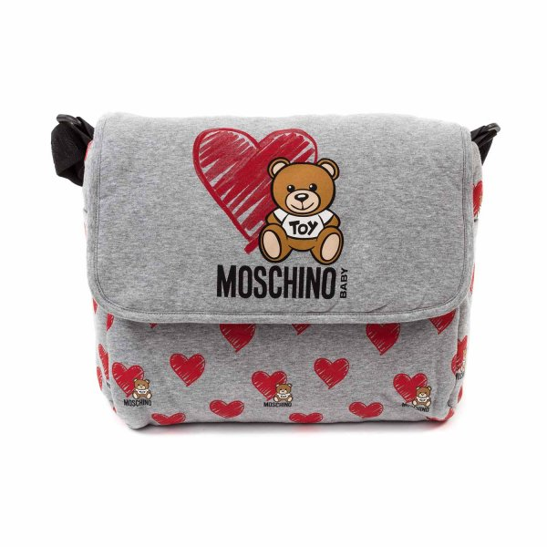 Moschino - COTTON MOMMY BAG WITH LOGO