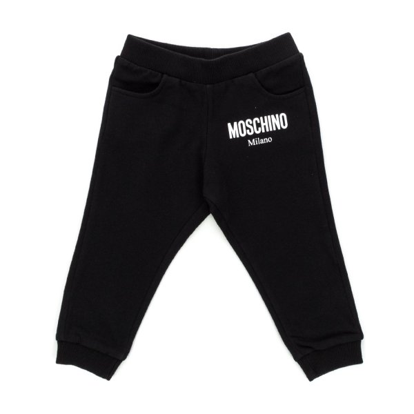 Moschino - UNISEX BLACK SWEATPANTS