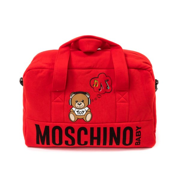 Moschino - MOMMY BAG WITH LOGO PRINT