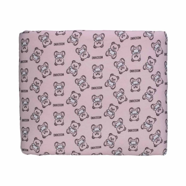 Moschino - BABY GIRL TEDDY BEAR BLANKET