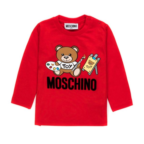 Moschino - LOGO T-SHIRT FOR BABY GIRL