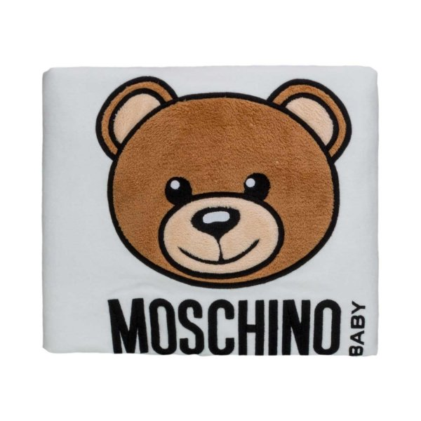 Moschino - TEDDY BEAR BLANKET FOR BABY