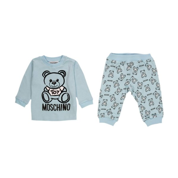 Moschino - COTTON SUIT FOR BABY BOY