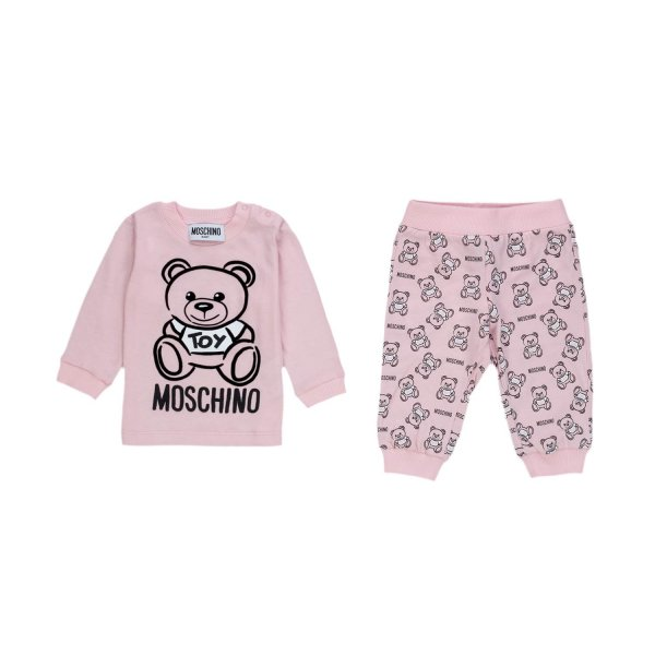 Moschino - COTTON SUIT FOR BABY GIRL