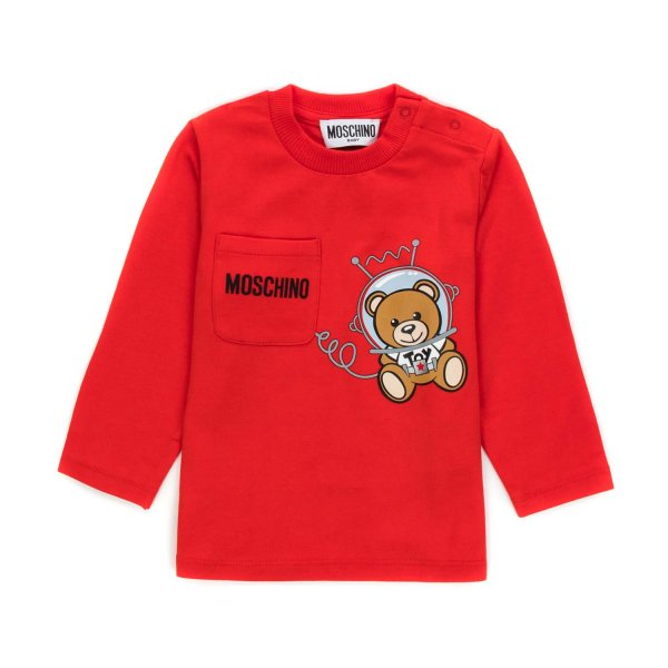 Moschino - BABY BOY TEDDY BEAR T-SHIRT