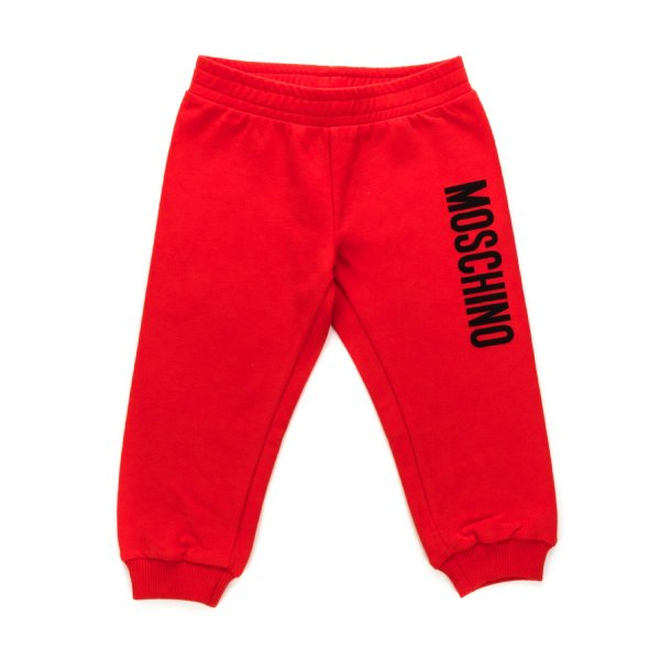 Moschino - UNISEX RED SWEATPANTS