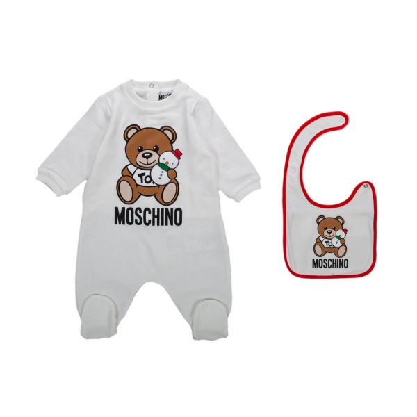 Moschino - BIB AND ROMPER SET FOR BABY